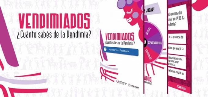 """Hoy en Mendoza declararon de interés legislativo el juego """"Vendimiados"""" creado por la UNCuyo"""