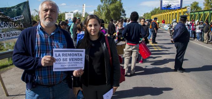 La diputada Soledad Sosa denuncia crisis hídrica, concentración y extranjerización de la industria vitivinícola en el Valle de Uco