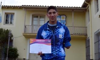 """Braian Villarreal el atleta que eligió Tupungato para vivir, ahora está """"Entre los mejores del mundo"""""""
