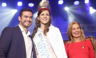 Desde Guaymallén, Gisela Sánchez se consagró como Reina Provincial de la Nieve en la gran fiesta de Malargüe
