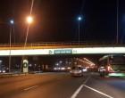 Luján de Cuyo sigue brillando con proyección sustentable: Se iluminan todos los puentes del Acceso Sur