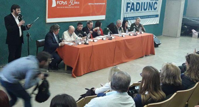 El sugestivo silencio del Cornejismo en debate sobre el futuro de la Educación de los precandidatos mendocinos en la UNCuyo