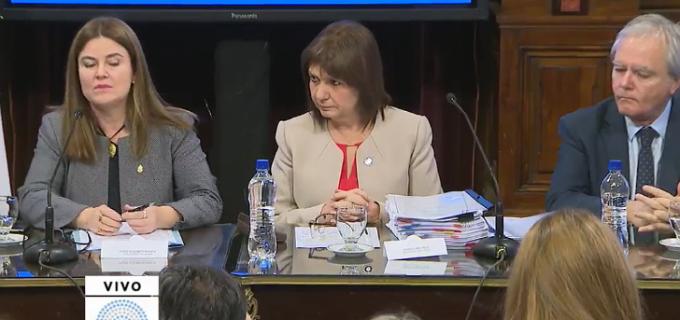 """Soledad Sosa: """"Bullrich vino al Senado a continuar el encubrimiento de la gendarmería en la desaparición forzada de Santiago Maldonado"""""""