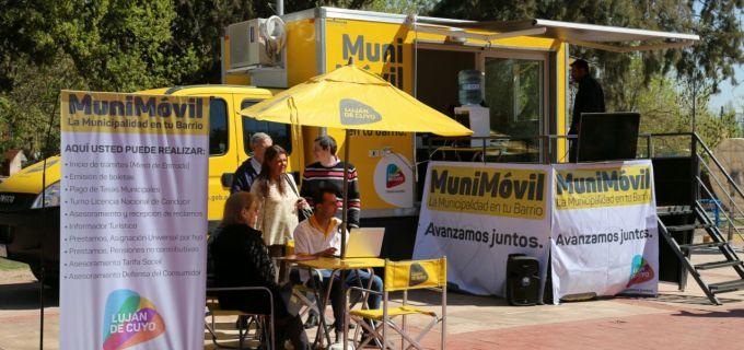 El Municipio más cerca del vecino: Luján de Cuyo inauguró el primer MuniMóvil del país