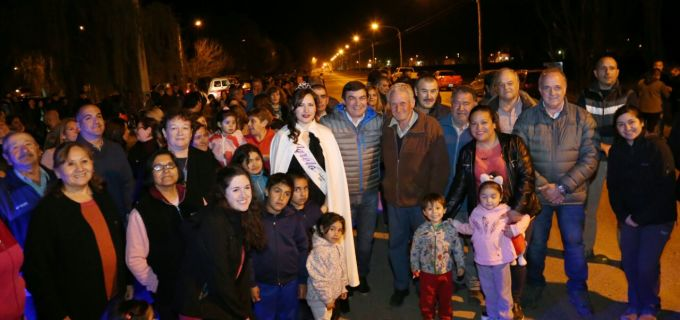 Más luz para Luján! El Municipio instaló nuevas luminarias en Agrelo