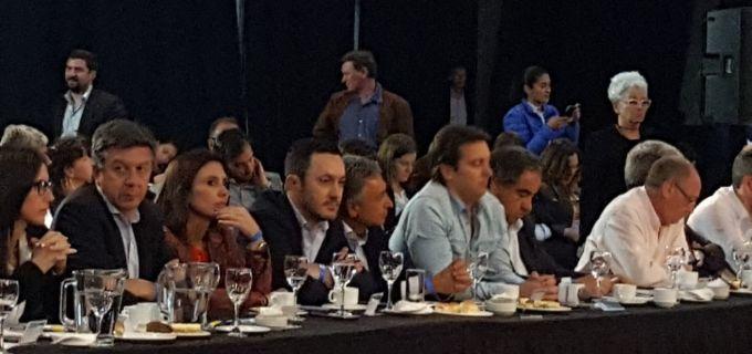 Cambiemos reune tropa para afilar la estrategia electoral en Parque Norte: Cornejo, Petri, Gazali, Najul, De Marchi, Basualdo, Cáceres, Poggi, los cuyanos