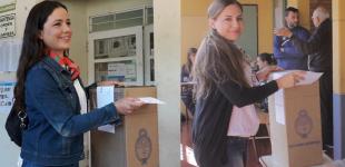 Noe Barbeito y Sole Sosa: Exigieron justicia por Maldonado y total repudio a la detención de candidatos bonaerenses del FIT