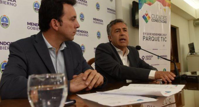 Godoy Cruz aplica la tecnología a su gestión pública: Cornejo presentó la nueva edición de Ciudades Conectadas
