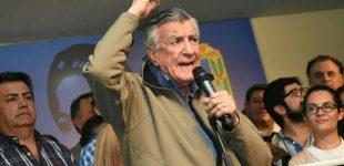 """El peronista José Luis Gioja no quiere escuchar nada sobre la reelección de Mauricio Macri: """"Minga cuatro años más!"""""""