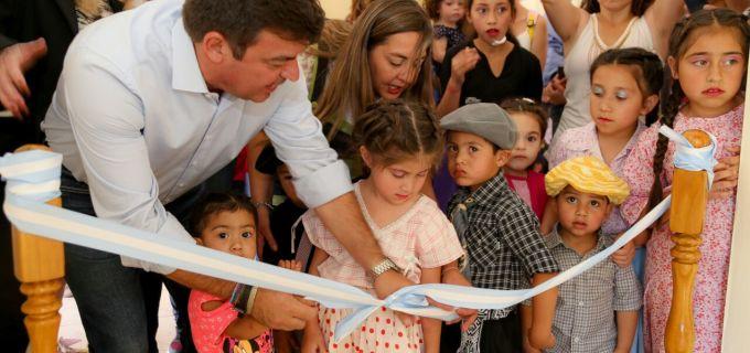 Se pone en valor la calidad de vida de los vecinos de Potrerillos: inauguran jardín maternal y se desarrolla el turismo sustentable