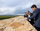 El reconocido enólogo francés Michel Rolland visitó Dragonback Estate, el mega emprendimiento de la zona de Agrelo, Luján de Cuyo