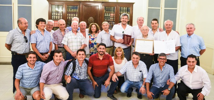 Veteranos del ciclismo cuyano fueron distinguidos por la Legislatura de Mendoza