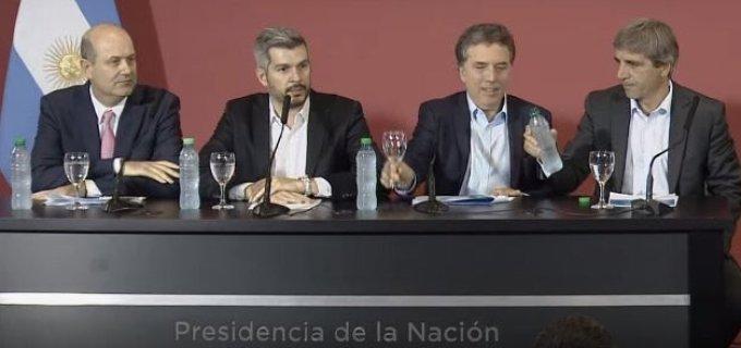 Ayer el Senado aprobó el Presupuesto 2018, hoy el equipo económico de Macri ratificó el modelo pero postergó un año el objetivo de tener una inflación de un dígito en 2019
