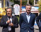 """Macri en Mendoza: """"No vamos a parar hasta poner en marcha Portezuelo del Viento"""" y Verna en La Pampa respondió recaliente"""
