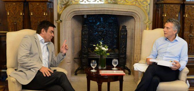 El presidente del PRO Mendoza Omar De Marchi mantuvo una reunión con Mauricio Macri con la mirada puesta al 2019