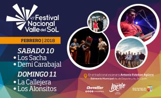 Merlo al 100! Con una ocupación turística a tope, se perfila una gran fiesta popular del Valle del Sol inolvidable con músicos, bailarines, artesanos, escritores y productores regionales