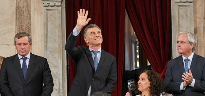 """Macri contagió optimismo en el Congreso: """"Lo peor ya pasó, ahora empezamos a crecer"""""""