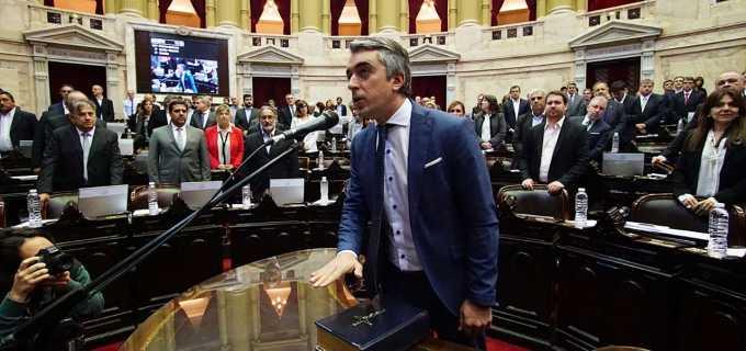Sebastián Bragagnolo asumió como Diputado Nacional y representará a los mendocinos en el Congreso