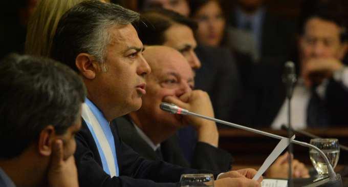 """Cornejo propone un Estado más inteligente al servicio del ciudadano, """"El Nuevo Estado"""": """"Quiero explicar las metas que alcanzamos en este camino de orden y cambio que elegimos, para enfocarnos en la Mendoza que viene"""""""