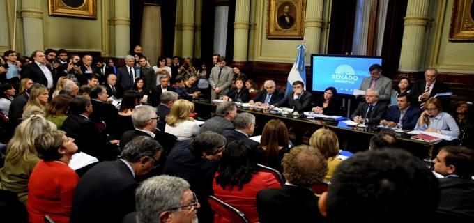 """Los senadores Catalfamo y Rodríguez Saá en el debate de los tarifazos: """"Me sorprende que con tantos timbreos que han realizado no se han cruzado con esta realidad angustiante de la gente"""" afirmó la puntana"""
