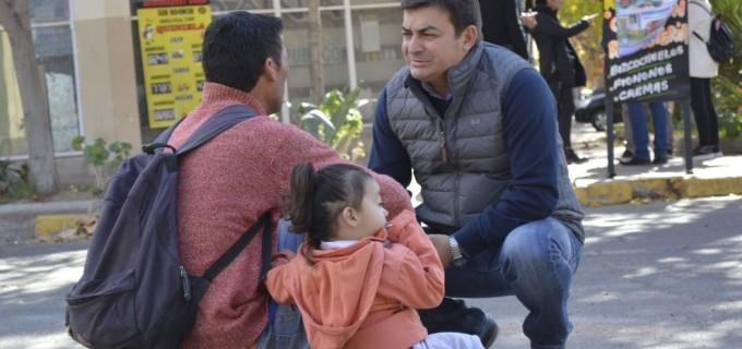 De Marchi que estuvo en Godoy Cruz y la diputada nacional Huczak en Maipú lideraron el nuevo timbreo nacional de Cambiemos en Mendoza