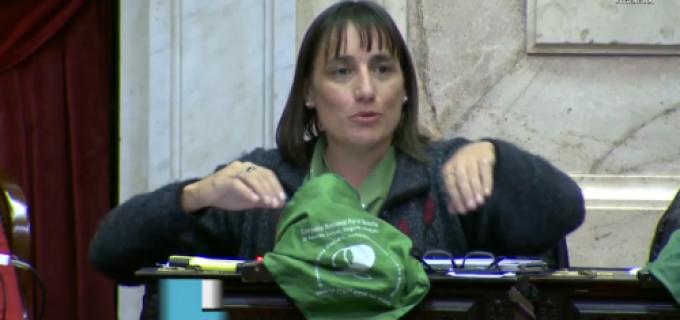 """El FIT y un sopapo directo: """"Ramón, hay que hablar de Mendoza donde hay una niña de 10 años violada y es obligada a continuar su embarazo porque no se aplica el aborto no punible"""" sostuvo Del Plá"""