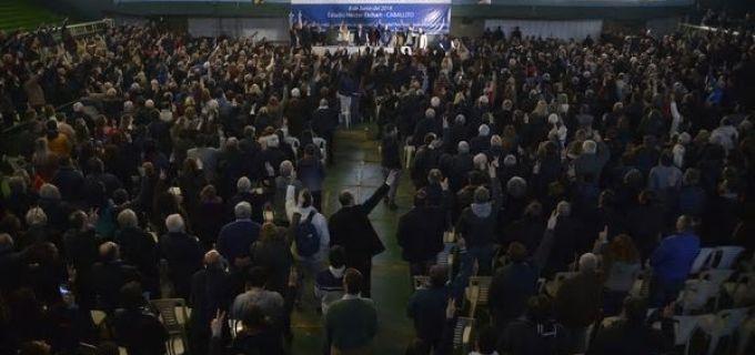 El Congreso del PJ convocó a más de 600 congresales y conforma una comisión que buscará la unidad para el 2019