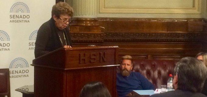 """El debate en el Senado sobre el Aborto legal tuvo una exposición de altura con la ex miembro de la CSJ de Mendoza, Aída Kemelmajer: """"Las mujeres no somos instrumentos de la reproducción humana"""""""