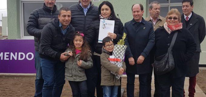 23 nuevas familias tupungatinas llenas de emoción porque cumplieron su sueño de tener su vivienda propia