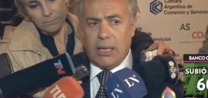 """Alfredo Cornejo y su respaldo al presidente Macri: """"Lo mejor que podemos hacer es sostener este programa económico"""""""