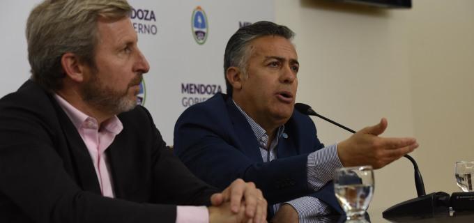 Portezuelo del Viento avanza a ser una realidad: Cornejo y Frigerio afirmaron que será financiado por el Gobierno Nacional y propiedad de Mendoza