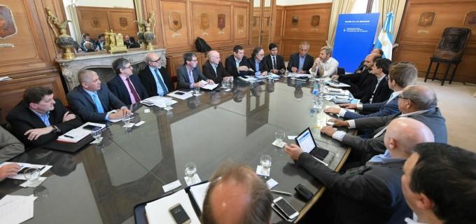 Avanza el acuerdo con las provincias sobre el Presupuesto 2019. El martes próximo es posible que cierren acuerdo