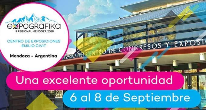 El espacio de negocios más importante de la industria gráfica en Argentina llega a Mendoza: Agendate! Expografika 2018, del 6 al 8 de septiembre!