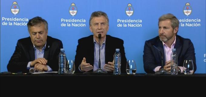 """Macri en Mendoza habló de la crisis económica:  """"Que tengamos tres jornadas así no quiere decir que las cuestiones estructurales se hayan resuelto"""""""