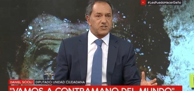 """Reapareció Scioli y mandó un mensaje a Macri: """"No se le puede seguir pidiendo sacrificios a la gente, la gente no da más!"""""""