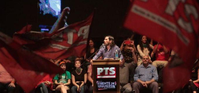 """La izquierda latió en su multitudinario acto en Buenos Aires con Nico del Caño y desde Mendoza con Noe Barbeito: """"Si sigue este saqueo al pueblo trabajador, si esperamos hasta el 2019, como plantea la oposición peronista, se impondrá la política del FMI"""""""