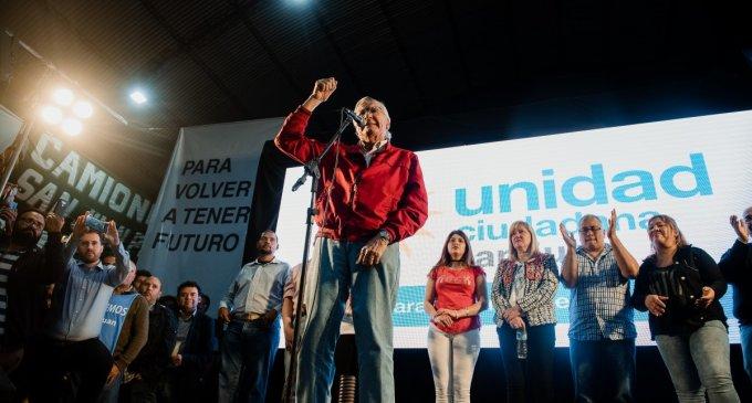 Lanzamiento de Unidad Ciudadana en la Tierra del Sol: Una gran fiesta de la militancia hizo latir San Juan y Gioja llamó a la unidad y conformar un gran frente para el 2019